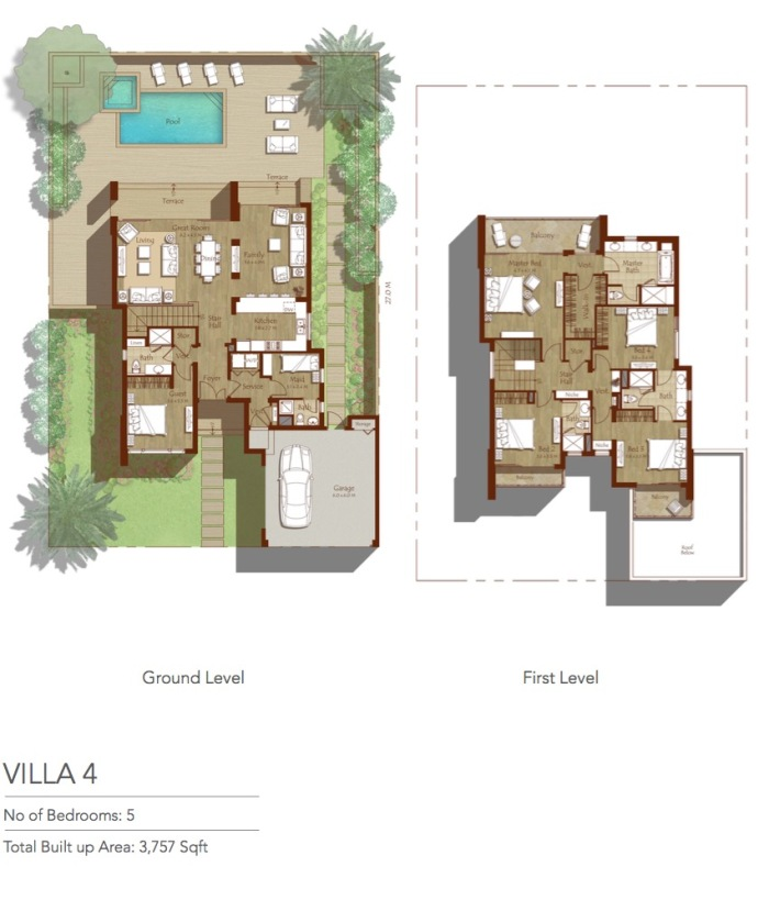 Villa4-Floor-Map